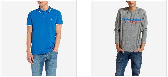 Wrangler Sale mit bis zu 65% Rabatt bei Veepee   z.B. Shirts ab 11,99€ oder Polos ab 14,99€