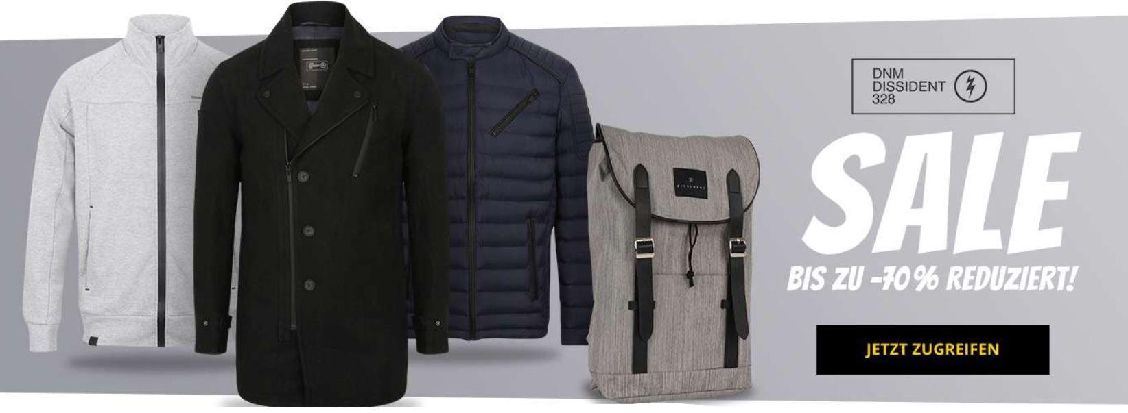 DNM Dissident   Urban Fashion mit bis zu 70% Rabatt   z.B. DNM Dissident Thompson River Canvas Rucksack ab 12,99€