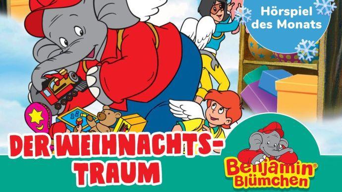 Benjamin Blümchen: Der Weihnachtstraum (Folge 52, Hörspiel) kostenlos