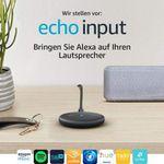 Ab heute: Amazon Echo Input startet in Deutschland und Österreich