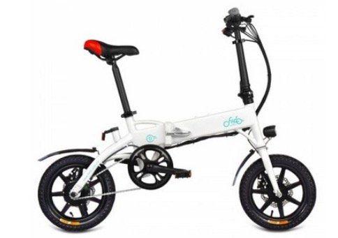FIIDO D1   E Bike Klapprad mit 10,4Ah Batterie in Weiss für 356€   Versand aus EU