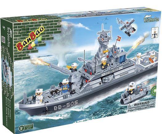 Vorbei:  BanBao 8411   Flugzeugträger 2.580 Teile für 48€ (statt 112€)