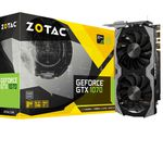 Top! ZOTAC GeForce GTX 1070 Amp!  oder Mini + Games o. Hardware  ab 319€