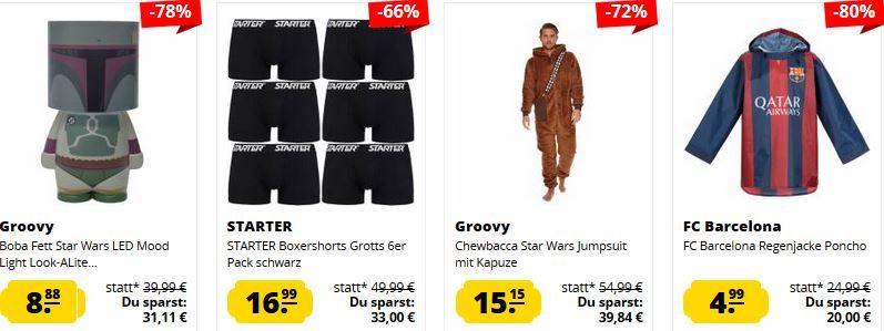 SportSpar Last Minute Deals ab 1,99€ + VSK