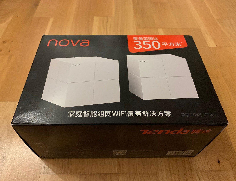 Test des Tenda Nova MW6 WiFi Wireless Router & Repeater
