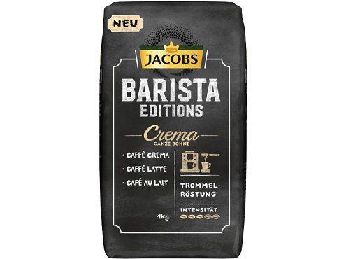 1kg Jacobs Barista Editions Kaffee Crema ganze Bohne für 9,90€ (statt 16€)