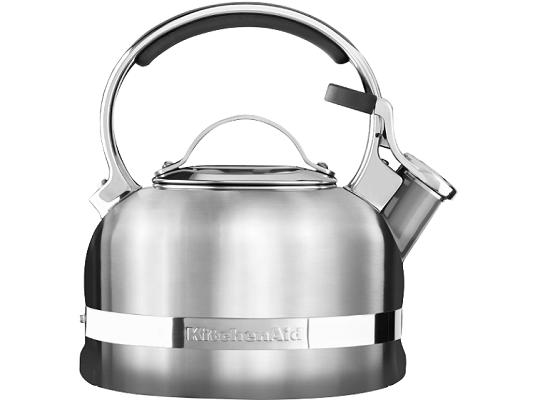 KitchenAid Wasserkessel (KTST20SBST) mit 1,9 Litern Volumen für 41,40€ (statt 68€)