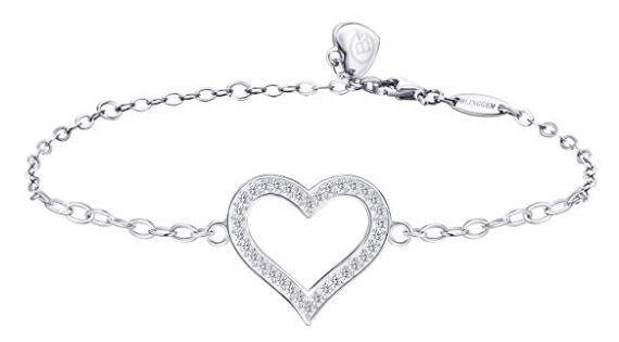 BlingGem BGB09 Damenkette mit Swarovski Zirkonia Armband für 12,59€ (statt 28€)