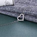 BlingGem BGB09 Damenkette mit Swarovski Zirkonia-Armband für 12,59€ (statt 28€)