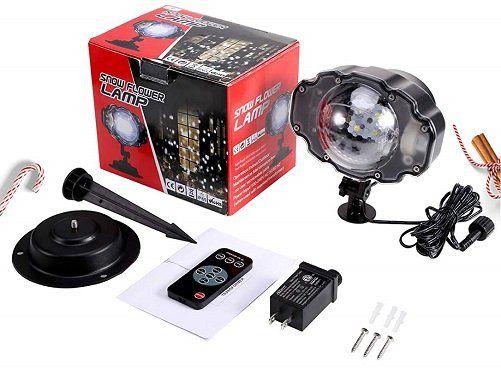 B right PG 20180815 Weihnachts LED Projektionslampe für 19,78€ (statt 33€)