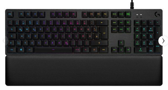 Logitech G513 Mechanische RBG Gaming Tastatur ab 90,90€ (statt 118€)