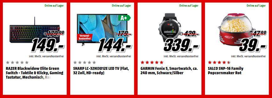 Media Markt Adventskalender Tag 2: z.B.z.B. HUAWEI P20 Lite 64 GB Dual SIM für 237€