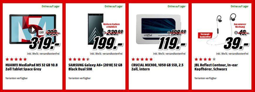 Media Markt Adventskalender Tag 9: heute u.a. CRUCIAL MX300   1 TB SSD für 119€ (statt 141€)