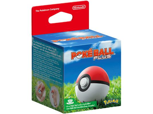 Nintendo Pokémon: Pokéball Plus Controller für Nintendo Switch für 22€ (statt 45€)