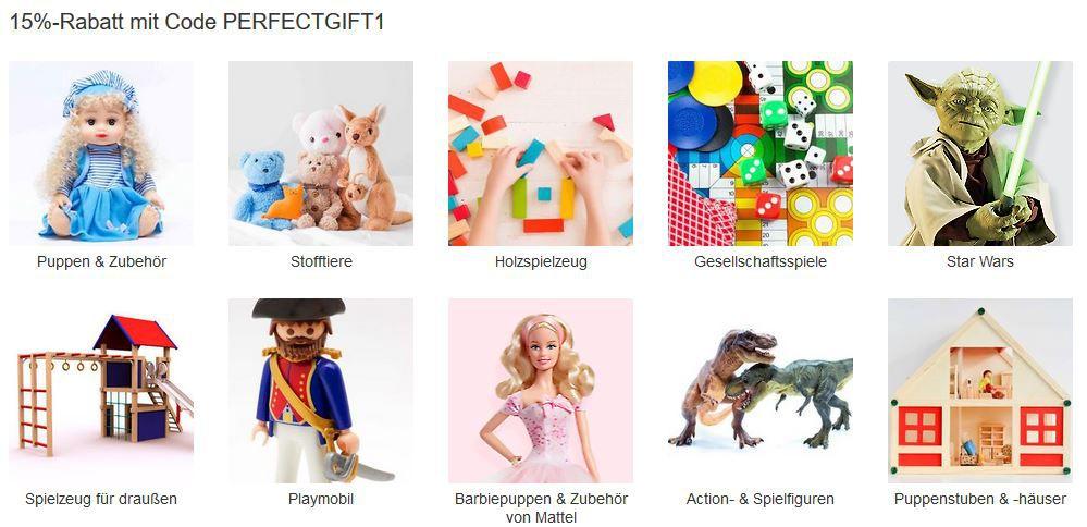 Top! eBay 15% Gutschein auf: Spielzeug,  Bücher  Uhren & Schmuck uvam bis Mitternacht!