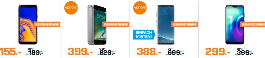 Saturn Late Night Smartphone Shopping: z. B. MOTOROLA One Smartphone für 199€ (statt 234€)