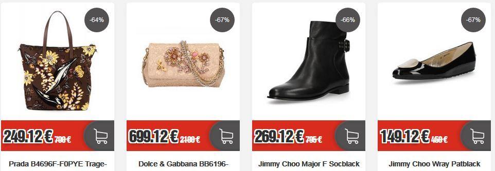 TOP12: Luxury Sale mit Miu Miu , Prada, Dolce & Gabbana und anderen