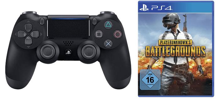 PlayStation 4 DualShock Controller + Playerunkowns Battleground für 59€ (statt 83€)