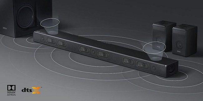 Ausverkauft! Samsung HW N950 Soundbar mit 17 integrierten Lautsprechern für 608,90€ (statt 1.189€)