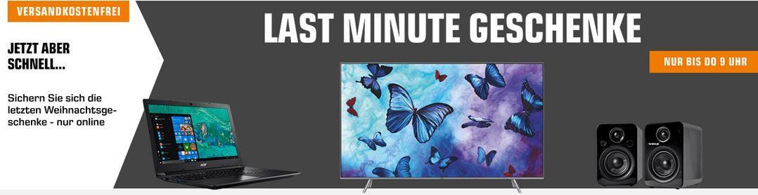 Saturn Late Night:  günstige Last Minute Geschenke