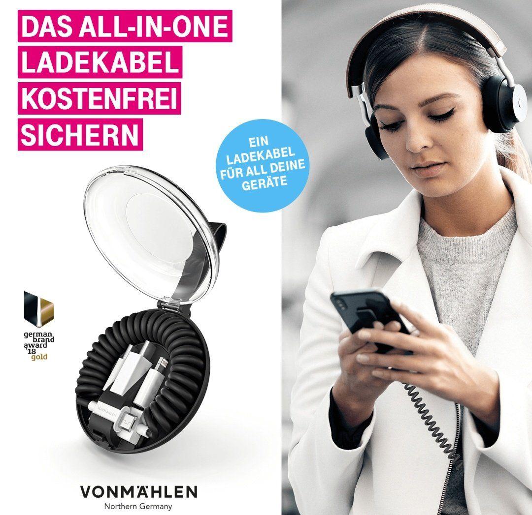 Nur für Telekom Kunden: All in one Ladekabel gratis