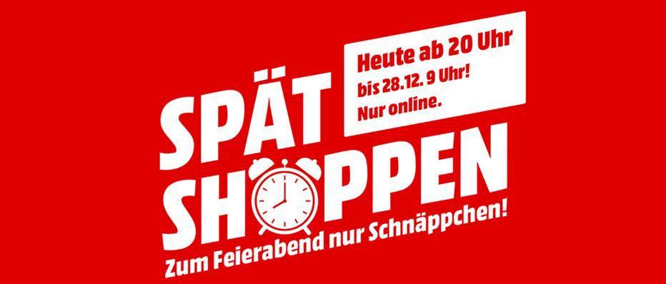 ? Top! Media Markt Spät Shoppen bis 9Uhr mit guten Preisen quer Beet   z.B. Beurer KS 33 Küchenwaage  für 11€ (statt 23€)