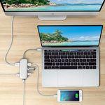 HooToo HT-UC007 USB-C Hub mit Gigabit Ethernet, HDMI und USB-C Ladeanschluss (100W Power Delivery) für 38,99€ (statt 55€)