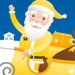 Weihnachtspost vom Weihnachtsmann erhalten