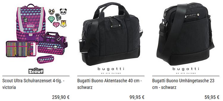 Koffer Direkt mit 15% Rabatt auf fast alles + weitere 5% bei Vorkasse