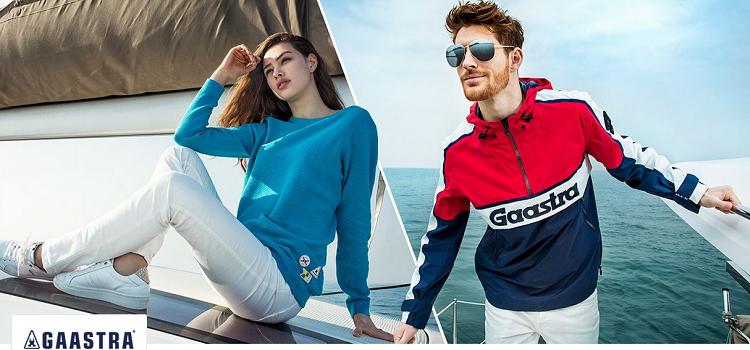Gaastra Sale mit bis zu 63% bei vente privee   z.B. Pullover mit V Ausschnitt in Grau für 39,99€ (statt 60€)