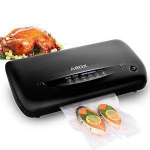 ABOX Automatische Vakuumiergerät mit eingebautem Cutter für 49€ (statt 70€)