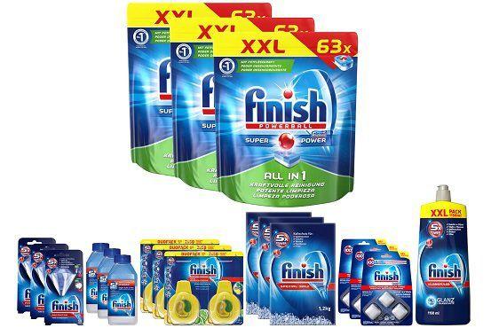 Finish Rundum Sorglos Halbjahrespack (All in 1) für 39,99€ (statt 53€)
