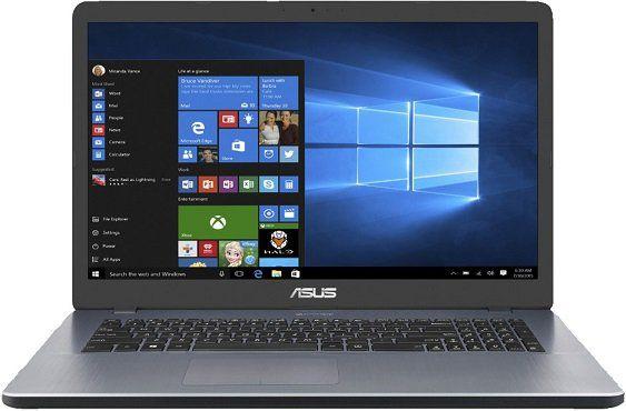 ASUS R702QA BX054T Notebook mit 17.3, A12 Prozessor, 8GB RAM, 512GB SSD für 444€ (statt 504€)