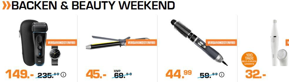 Saturn Weekend Sale: günstige TVs, IT Hardware, Smartphones & Zubehör sowie Backen und Beauty ?