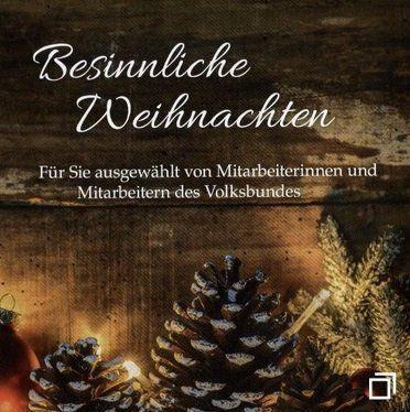 Vorbei! Gratis: CD  Besinnliche Weihnachten