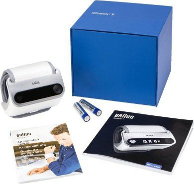 Braun iCheck 7 BPW4500 Blutdruckmessgerät für 62€ (statt 71€)