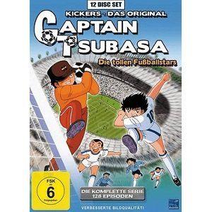Captain Tsubasa: Die tollen Fußballstars   Die komplette Serie auf DVD für 39€ (statt 53€)
