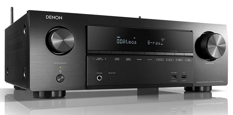 Denon AVR X1500H   7.1 AV Receiver mit WLAN 4K Dolby Atmos für 299€ (statt 339€)