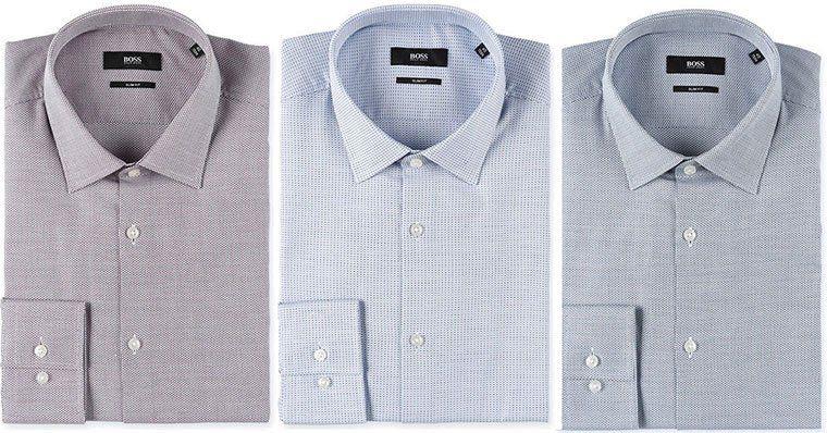 Hugo Boss Black   Langarmhemd in versch. Farben für je 34,99€ (statt 50€)