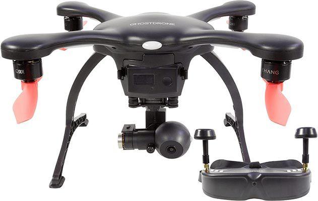 EHANG Ghost 4K Drohne (Android) in Schwarz inkl. VR Brille für 299€ (statt 804€)