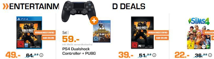 Saturn Entertainment Weekend Deals: z.B. HP OMEN 25 Monitor für 179€ (statt 219€)