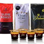 Exklusives Kaffeepaket Bestseller (3kg) + 4 L'OR Espressotassen für 39,99€