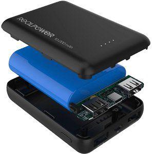 REALPOWER PB 10000mini HD   mobiles Ladegerät/Powerbank mit 10.000mAh für 13,99€ (statt 21€)