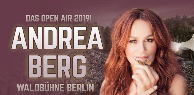 Andrea Berg Open Air Konzert in Berlin + ÜN im 4* Hotel sowie Extras ab 109€ p.P.