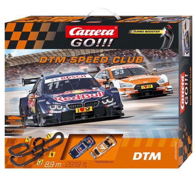 Carrera Go!!! DTM Speed Club Rennbahn für 55€ (statt 71€)