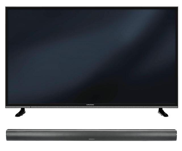 GRUNDIG 49 GUB 8962   49Zoll UHD smart TV + Grundig DSB 950 Soundbar für 438,90€ (statt 469€)