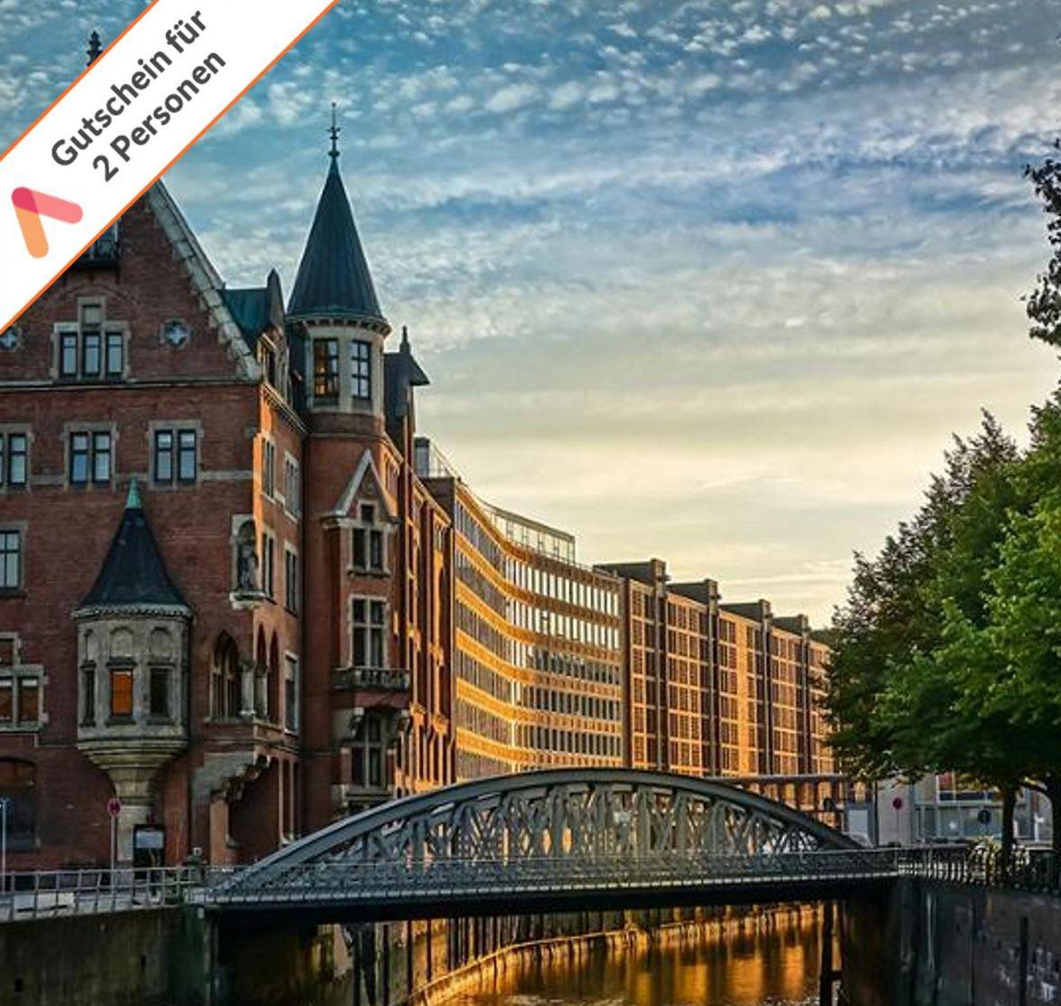 Last Minute Geschenk: Gutschein A&O Hotels 2 Personen 2 Übernachtungen in Hamburg für 79,98€