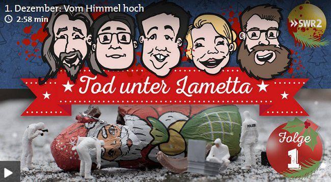 Kostenlose Hörgeschichten: Z.B. Tod unter Lametta