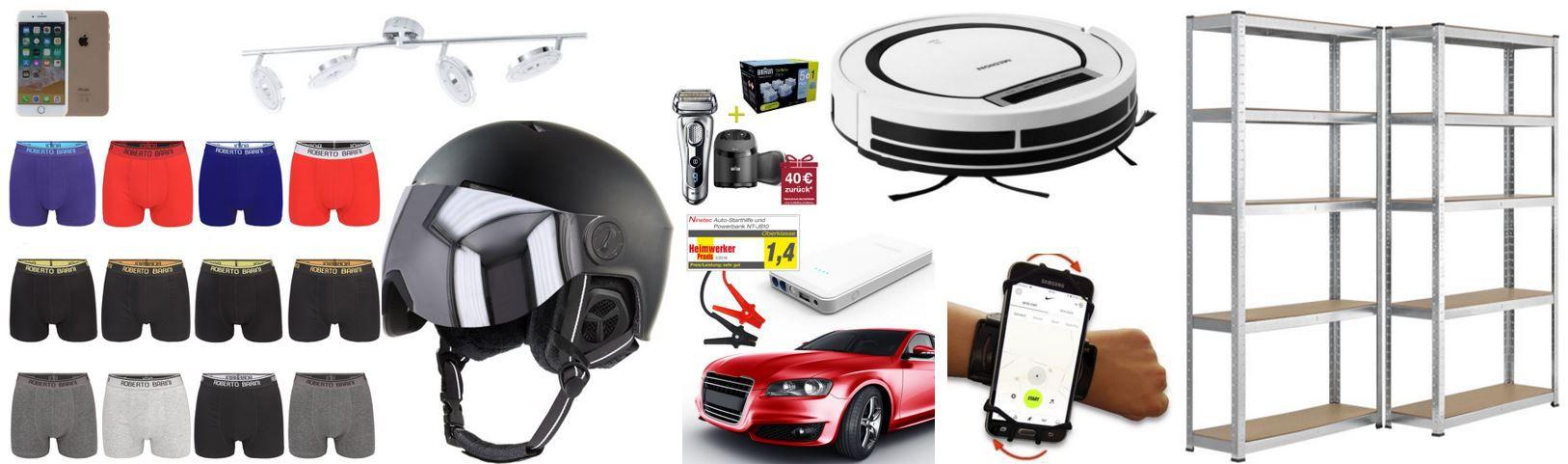 eBay Wows vom Montag: z.B. MEDION MD 18600 Saugroboter für 99,99€