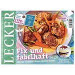 """""""Lecker"""" Koch Magazin im Halbjahresabo für 21€ + 18€ Scheck"""
